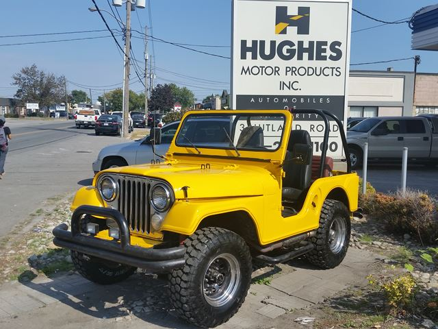 JEEP  CJ 5 <br> [YEAR - 1967] <br>